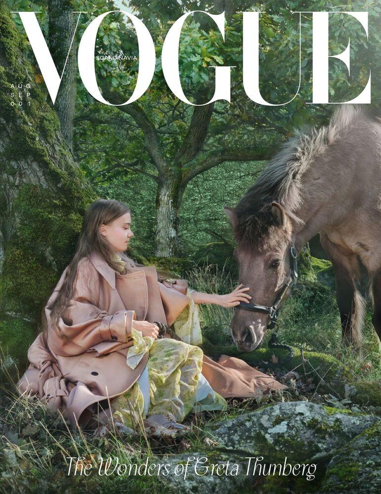 Large Vogue Scandinavia Cover I