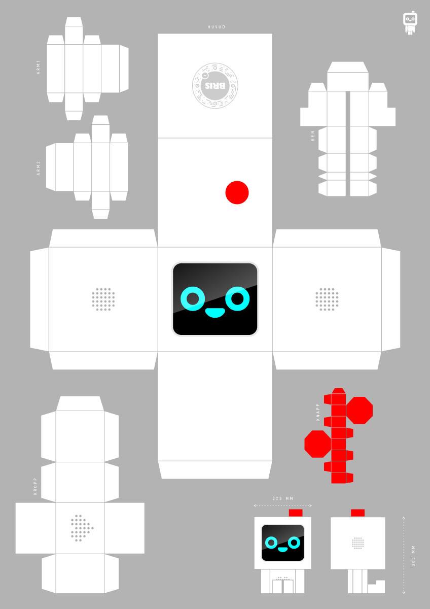 BRIS robot klippark A0