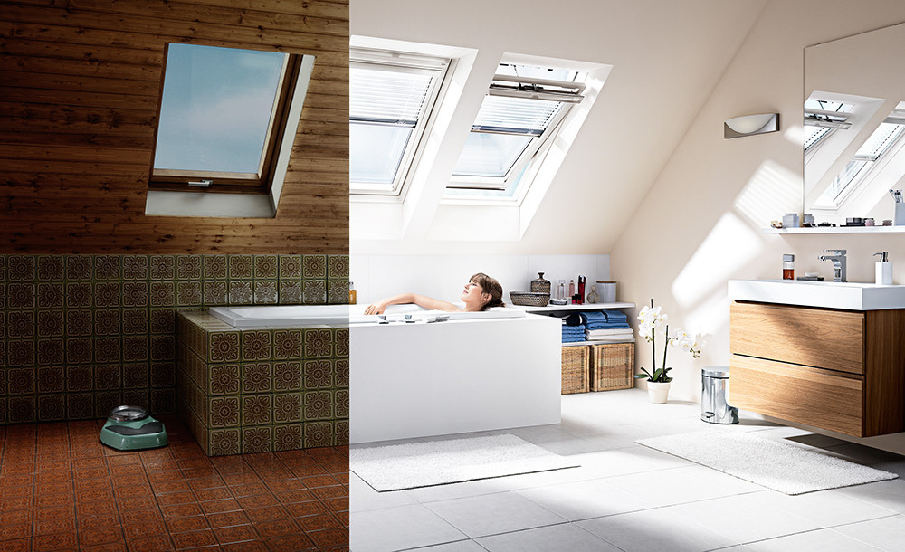 Alexander crispin Velux windows Bathroom