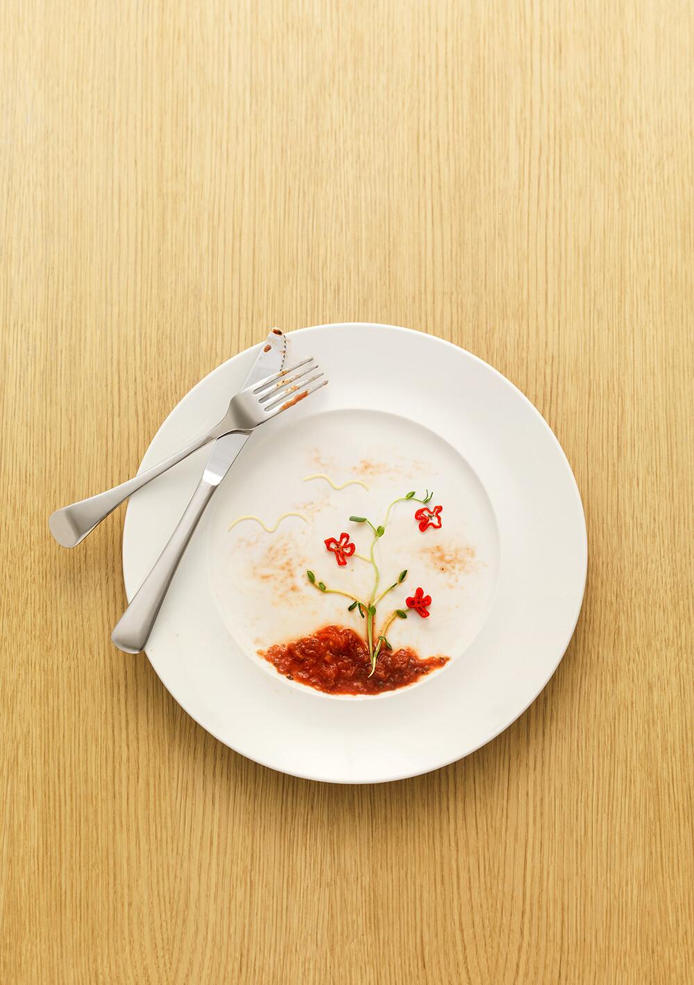 Alexander crispin lantmännen foodart flowers