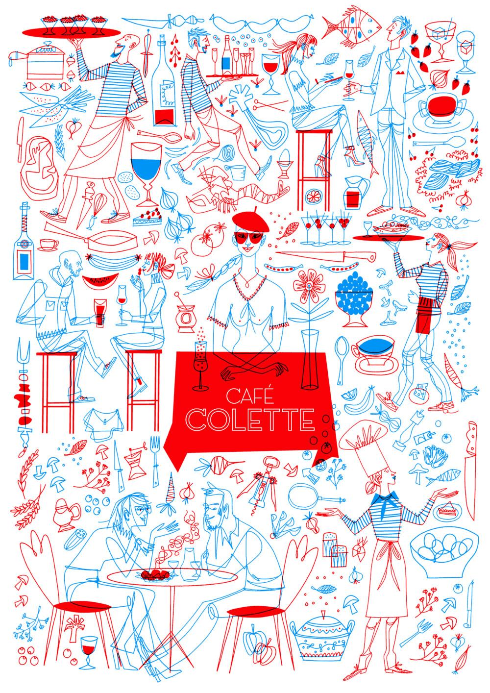 KF ColetteOriginal Affisch