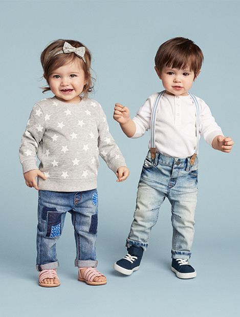 Kids 0066 baby girl size4m 2y jeans